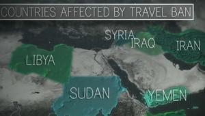 ما هي ردود أفعال سوريا والعراق وإيران على حظر ترامب؟