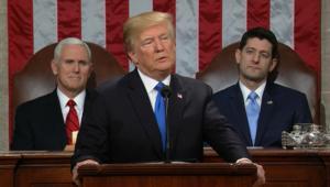 """خطاب """"حالة الاتحاد"""" الأول لترامب.. ما هو رد فعل الديمقراطيين؟"""