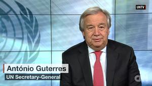 الأمين العام للأمم المتحدة يوجه