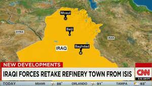 """مسؤولون عراقيون: الجيش يستعيد أغلب مدينة بيجي.. وموالون لداعش: المدينة تحت سلطان """"الخلافة"""" وجثث """"الروافض"""" بالشوارع"""