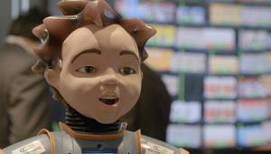 بمشاعره المختلفة.. روبوت مختص بالتعامل مع الأطفال المصابين بالتوحد