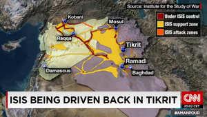 آخر تحديث على الخريطة.. مناطق عمليات ونفوذ داعش