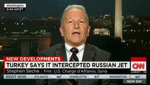 القائم بالأعمال الأمريكي السابق بسوريا يبين لـCNN ماذا يعني اختراق مقاتلة روسية الأجواء التركية: موسكو ستستمر باختبارنا وحلفائنا