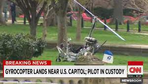 أمريكا: اعتقال طيار هبط بطائرته قرب الواجهة الغربية لمبنى الكونغرس بواشنطن