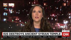 """بعد تدمير داعش له.. خبيرة بشؤون الآثار تبين لـCNN أهمية معبد """"بل"""" التاريخية في سوريا"""