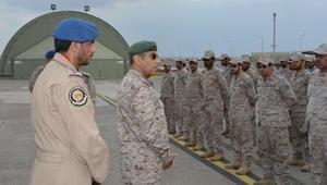 """بالصور.. رئيس أركان السعودية بتركيا لتفقد الوحدات المشاركة بتمريني """"نسر الأناضول"""" و""""أفس"""""""