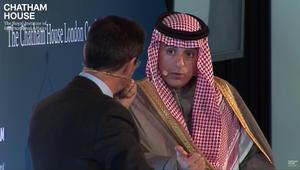 الجبير من لندن: حددنا ما هو غير مقبول والحل يعتمد على قطر