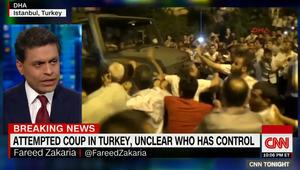 فريد زكريا لـCNN: عنصران مهمان للقيام بانقلاب عسكري ناجح.. وما حدث بتركيا فشل وهذه الدلائل