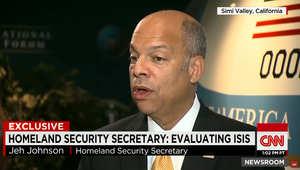 """بعد تبني داعش تحطم """"ميتروجيت"""".. وزير الأمن القومي الأمريكي لـCNN: رفع التدابير الأمنية بالمطارات الأمريكية للمراقبة والتقييم"""
