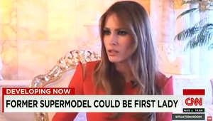 بالصور.. هل تصبح عارضة الأزياء ميلاني سيدة أمريكا الأولى؟