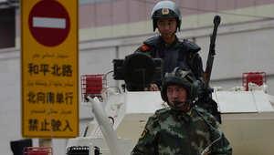 """الصين: مقتل 11 """"إرهابياً"""" في هجوم بمنطقة للأقلية الإسلامية"""