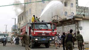 """مساجد عدن تدعو الحوثيين للاستسلام مقابل """"الأمان"""" وتضارب حول هوية القوات المستولية على أسلحة """"عاصفة ا"""