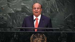الرئيس اليمني عبدربه هادي منصور