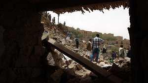 """""""عاصفة الحزم"""" تدخل يومها العاشر وسط دعوات لـ""""هدنة إنسانية"""" وإجلاء الرعايا الأجانب من اليمن"""
