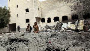 """50 قتيلاً وعشرات الجرحى بقصف جوي استهدف سوقاً في """"لحج"""""""