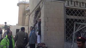 الدمار الناجم عن التفجير