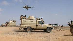 مختلف صنوف الأسلحة في الجيش اليمني اشتركت في الحملة على القاعدة