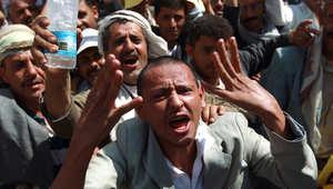 من احتجاجات يشهدها الشارع اليمني