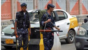 عناصر أمنية يمنية في صنعاء