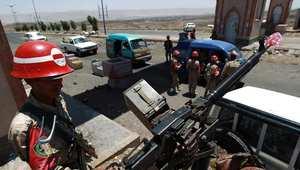 صورة ارشيفية لعناصر أمن يمنية