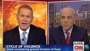 وزير الاستخبارات الإسرائيلي لـCNN: قد نضطر لشن عملية برية داخل قطاع غزة