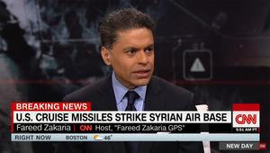 فريد زكريا لـCNN بعد ضربة أمريكا بسوريا: الآن ترامب أصبح رئيسا