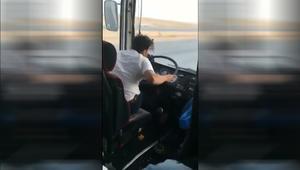 """بأقل من 24 ساعة.. السعودية تضبط سائق الحافلة """"ذو التصرفات الغريبة"""" وتكشف تفاصيلا عنه"""