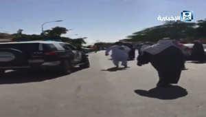 بالفيديو.. اللحظات الأولى بعد محاولة الهجوم على مسجد في الاحساء بالسعودية