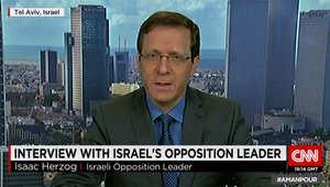 """بأول مقابلة بعد خسارته الانتخابات الإسرائيلية.. هرتزوغ لـCNN: نتنياهو خاض حملة """"تخويف"""""""