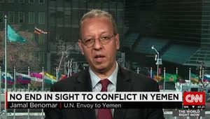 حصريا لـCNN.. مبعوث الـUN لليمن: مؤسف دخول البلاد بحرب أهلية بعد التحول السلمي الوحيد بين دول الربيع العربي