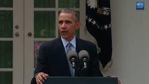 بمؤتمر الترحيب بالاتفاق النووي الإيراني.. أوباما: تحدثت مع ملك السعودية لتأكيد التزامنا الأمني تجاه شركائنا في الخليج