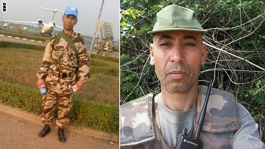 مبارك عزيز.. قصة جندي مغربي بقطاع الصحة قُتل في مهمة أممية لحفظ السلام Moubarek555