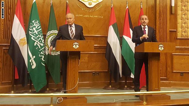 أبوالغيط في الأردن: ناقشنا إيجاد وسيط بديل لأمريكا في عملية السلام