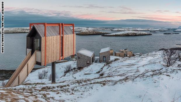 فقط في النرويج.. تجربة إقامة فخمة في كوخ