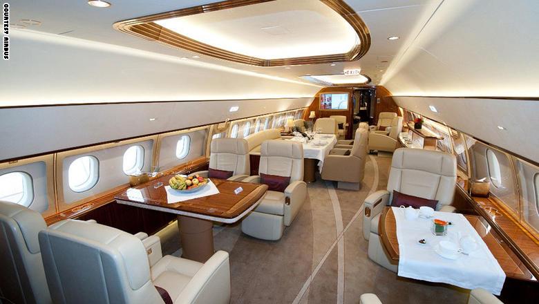 """هذه طائرة """"VIP"""" بكلفة 200 مليون دولار للأثرياء"""