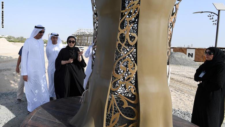 دبي تتجهز لافتتاح