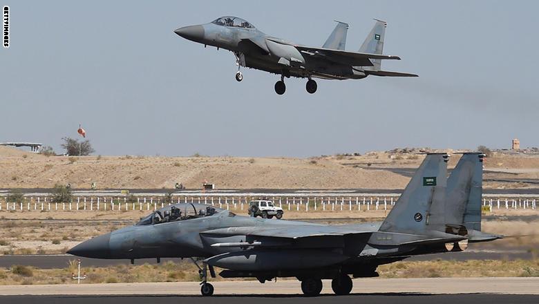 التحالف العربي يعلن تعرض إحدى مقاتلاته لإطلاق صاروخ من صعدة
