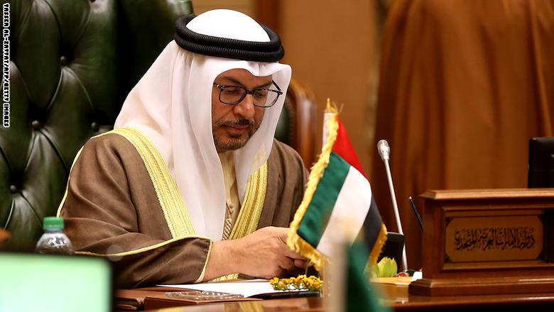 """قرقاش: شراكتنا مع السعودية وجودية ومبدأية وأمانا فرصة باليمن بعد """"فك"""" ارتباط حزب الإصلاح بالإخوان"""