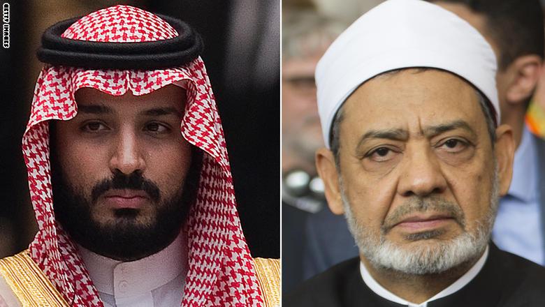محمد بن سلمان لشيخ الأزهر: نعول على المؤسسات الدينية لمواجهة الإرهاب
