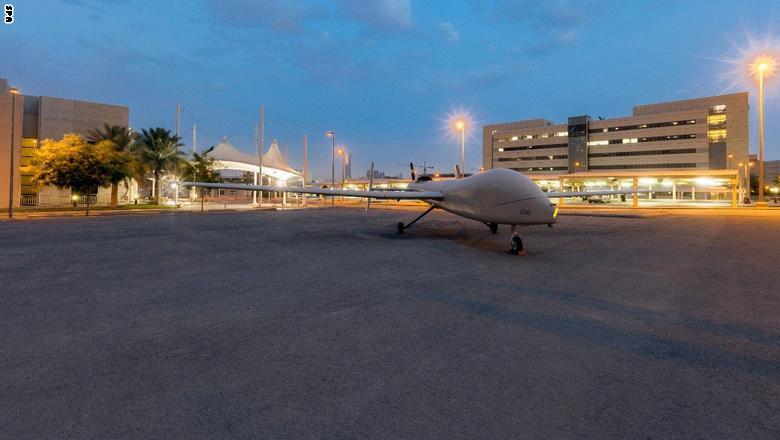 """السعودية تكشف عن طائرة """"صقر1"""" المتطورة دون طيار  Saqr-1"""