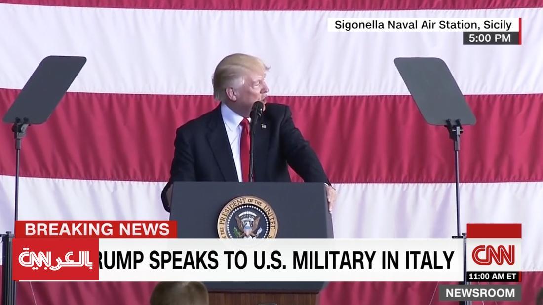 """ترامب يمدح """"الأداء الدبلوماسي"""" لزوجته ميلانيا"""