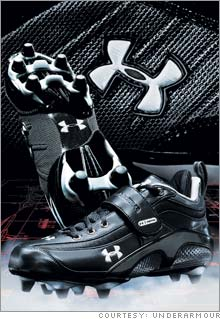Under Armour's cleat deal with the NFL include some potentially lucrative stock warrants.