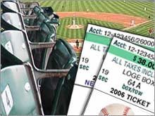 Major League Baseball sold a record 76 million tickets this season, and spread the money from those sales around more evenly, helping to level the financial playing field.