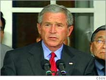 President Bush is set to meet with the heads of the Big Three automakers at the White House Tuesday.