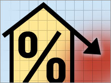 The 30-year fixed-rate mortgage fell to 5.98 percent, its lowest level in 14 months, from 6.13 percent last week.