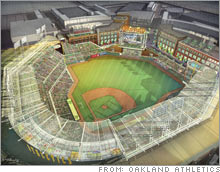 Computer network equipment maker Cisco will put its name on the new Oakland Athletics stadium.
