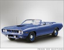 1971 Plymouth Hemi 'Cuda convertible sells for $2 5 million