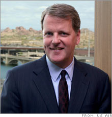 US Airways CEO Douglas Parker.