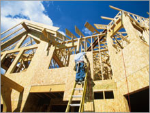 Housing starts and permits showed an increase in March, but the report may have been distorted by the effect of weather in the Midwest.