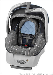 450000 Evenflo Embrace Infant Car Seat Carriers Have Been Recalled Because Of Malfunctioning Handles